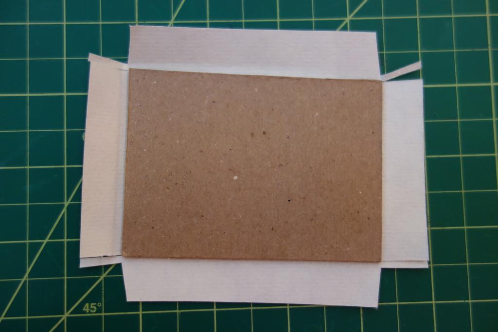 glue cover paper