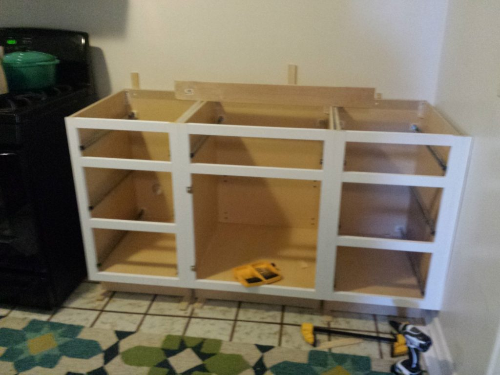 cabinets without fronts